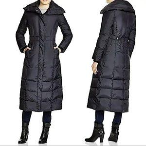 Cole Haan Black Maxi Down Coat